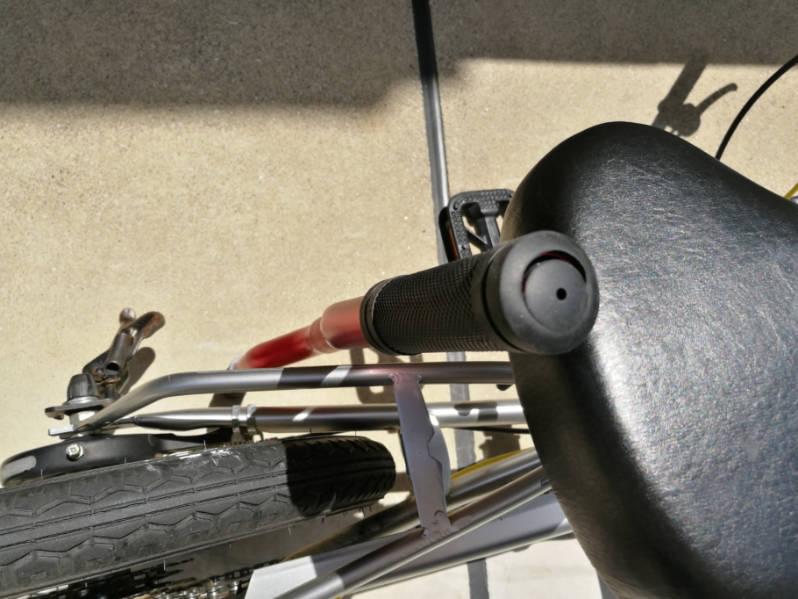 幼児用・子供自転車のハンドルをフラットバーに変更 失敗