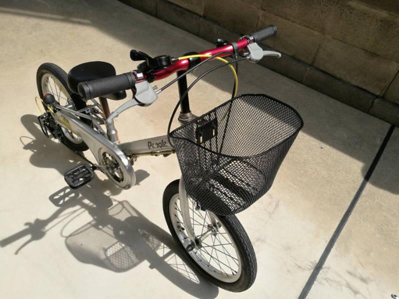 幼児用・子供自転車のハンドルをフラットバーに変更 完成