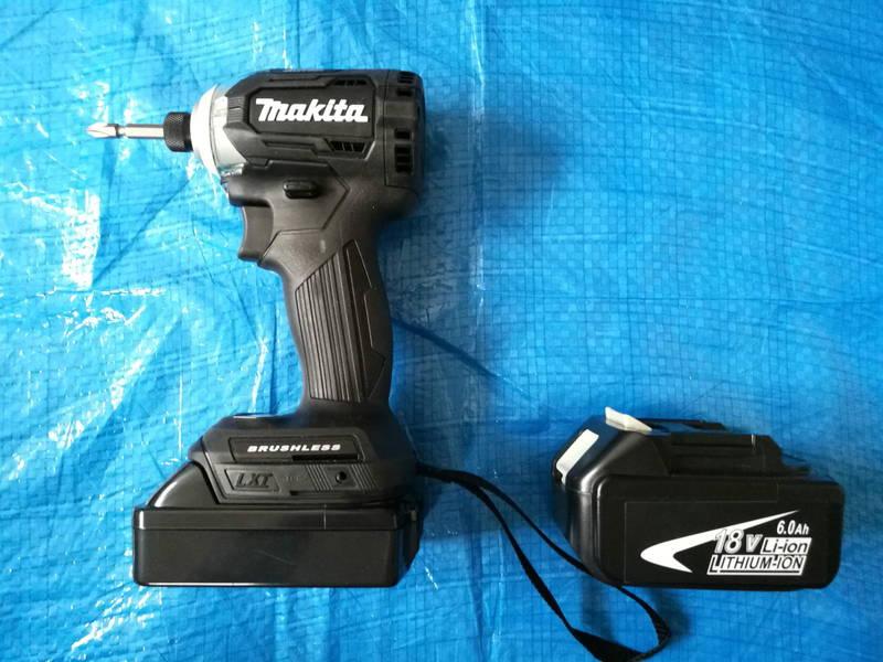 Makitaマキタの互換バッテリー-BL1820- 充電式インパクトドライバ-TD170DZ- -7-