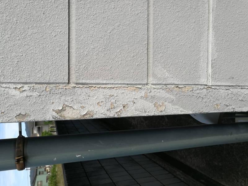 外壁塗装剥がれ対策にニッペ防水スプレーを使ってみた -2-