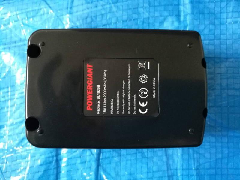 Makitaマキタの互換バッテリー-BL1820- 充電式インパクトドライバ-TD170DZ- -3-
