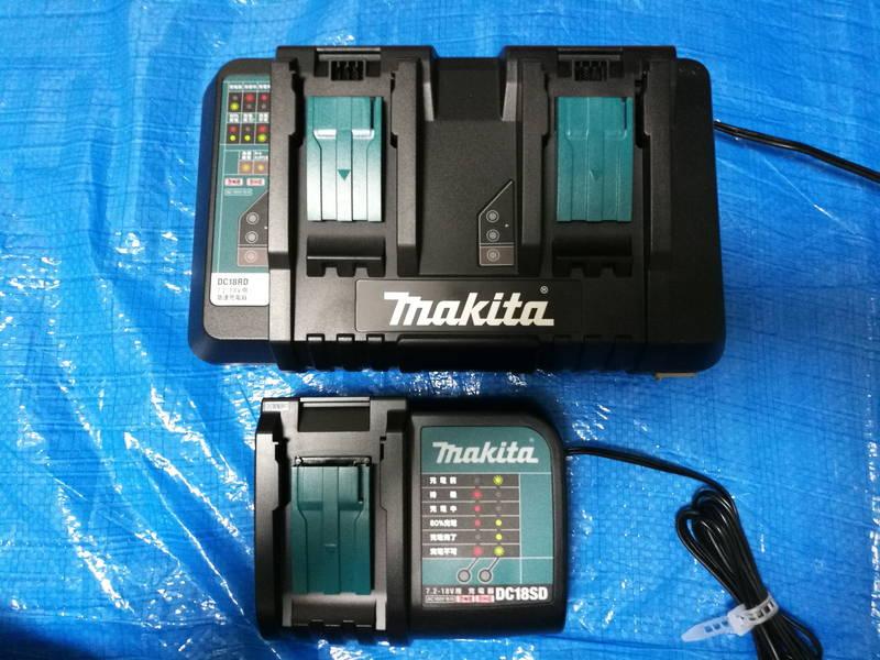 マキタの急速充電器-DC18RD,DC18SD-で互換バッテリー -3-