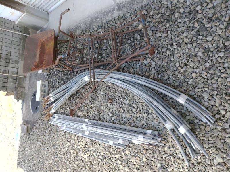 ビニールハウス破棄 電気ノコギリ-リョービASK-1000- -6-
