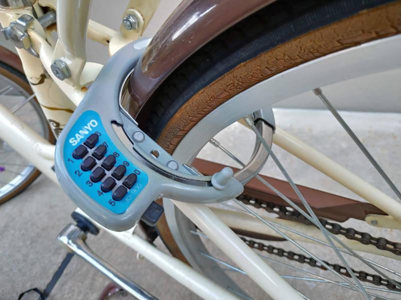 子供自転車 鍵 暗証番号ロック 交換 数字4桁 -3-