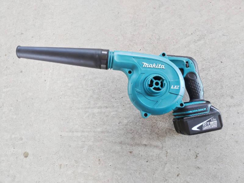 マキタの充電式クリーナ-CL182FDZW-とブロワ-UB182DZ- で掃除比較 -7-