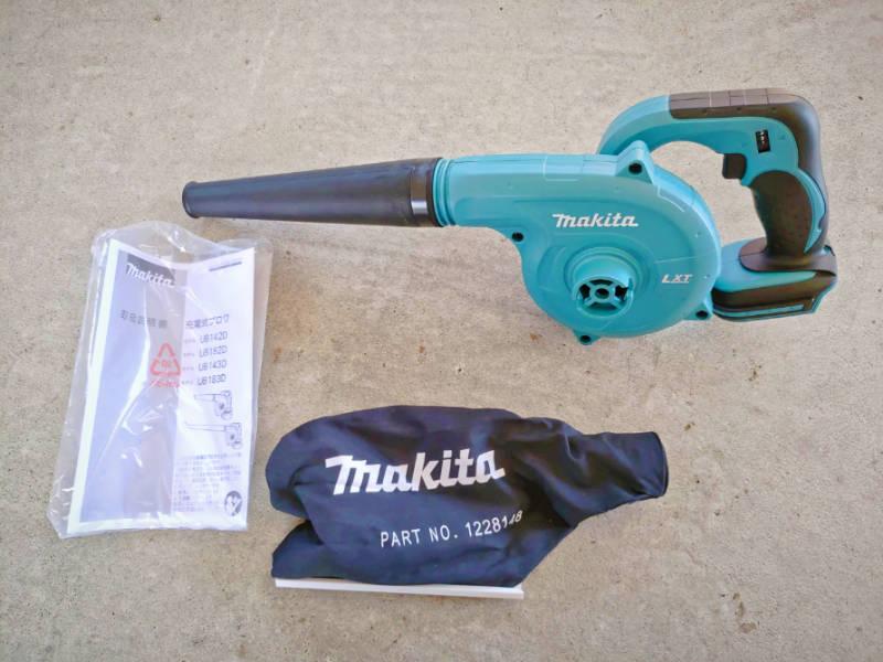 マキタの充電式クリーナ-CL182FDZW-とブロワ-UB182DZ- で掃除比較 -6-