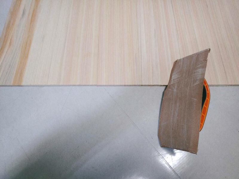 檜 集成材 木箱 小物入れ 未晒し蜜ロウワックス 塗装 -7-