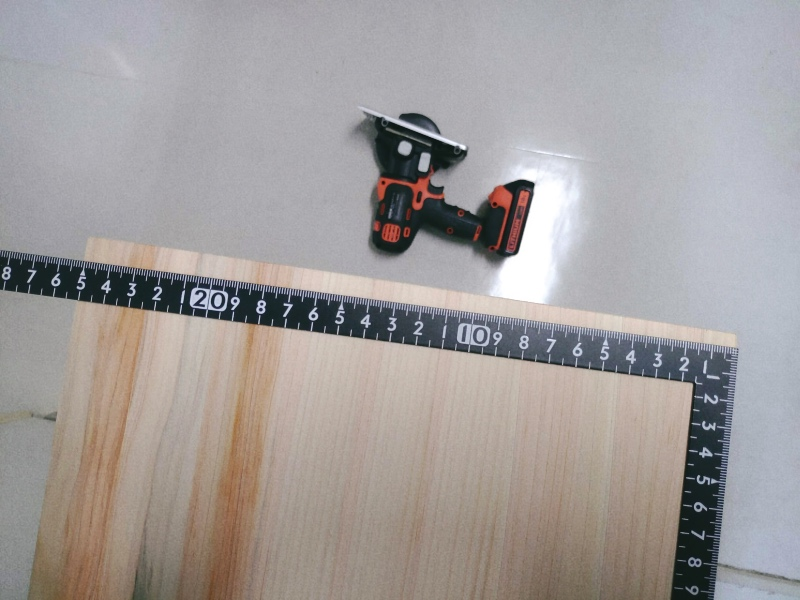 檜 集成材 木箱 小物入れ 未晒し蜜ロウワックス 塗装 -4-