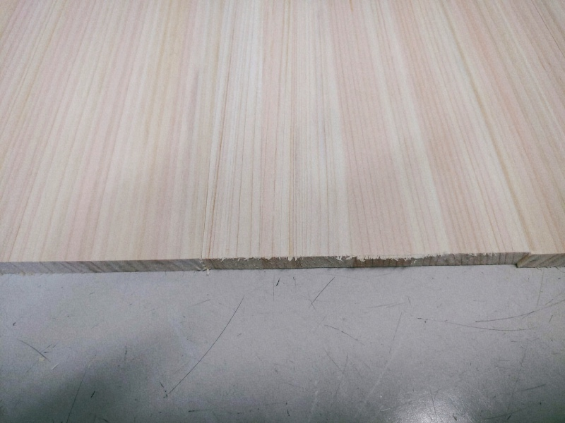 檜 集成材 木箱 小物入れ 未晒し蜜ロウワックス 塗装 -6-