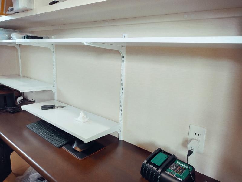 ロイヤル 棚柱&ブラケット 棚受・化粧板 DIY -8-