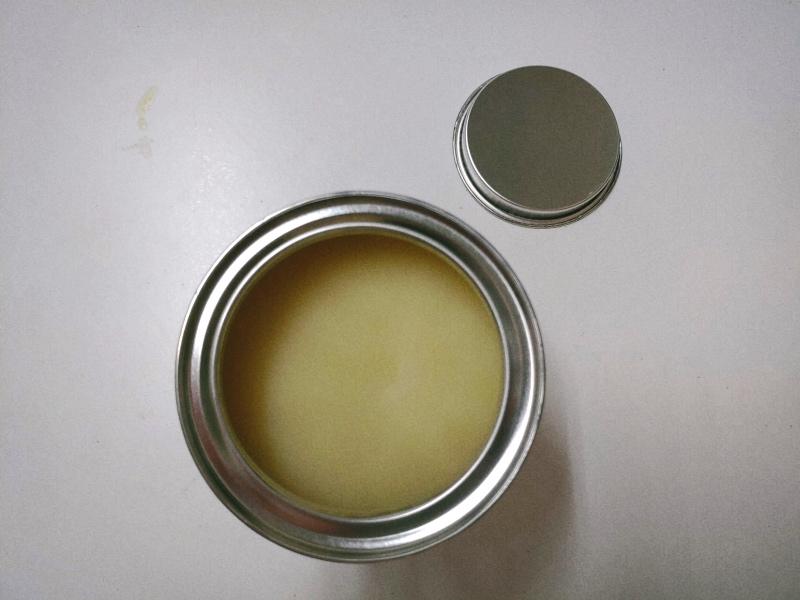檜 集成材 木箱 小物入れ 未晒し蜜ロウワックス 塗装 -15-