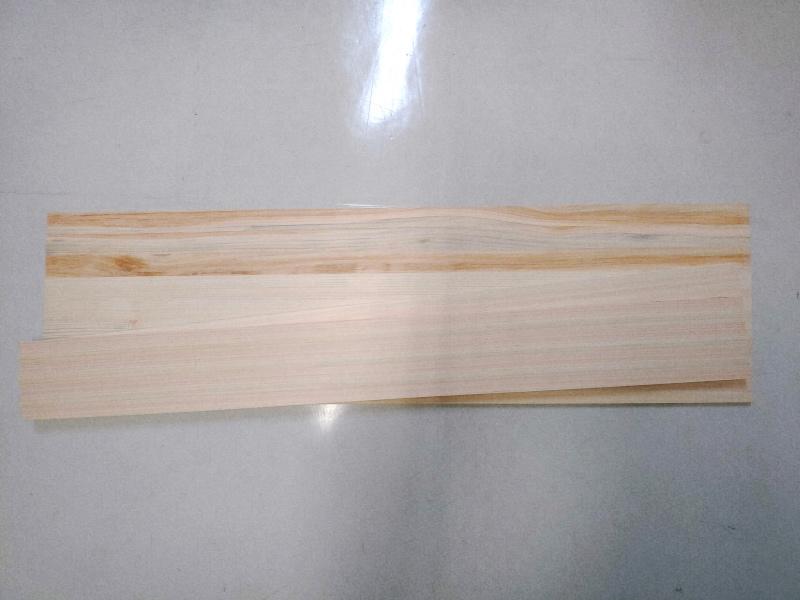 檜 集成材 木箱 小物入れ 未晒し蜜ロウワックス 塗装 -2-
