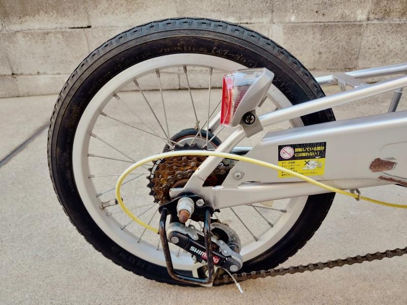 自転車 ブリヂストン ソーラーテールランプ バックホーク止め -9-