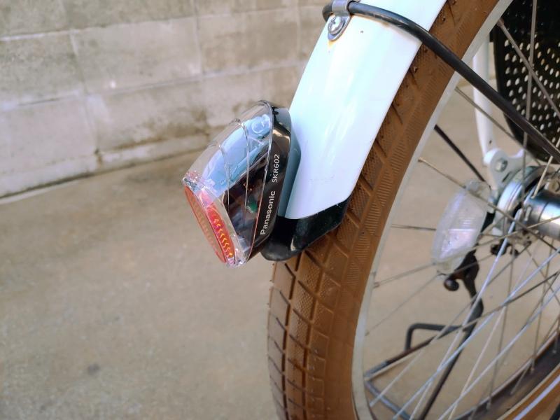 電動自転車 HYDEE2 パナソニック PANASONIC SKR602 LEDかしこいテールライト 泥除け装着用 -6-