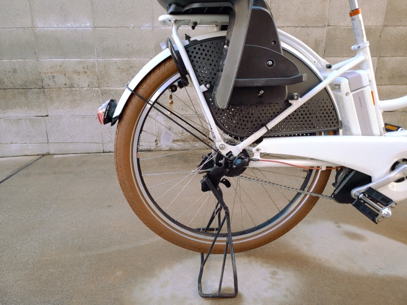 電動自転車 HYDEE2 パナソニック PANASONIC SKR602 LEDかしこいテールライト 泥除け装着用 -8-