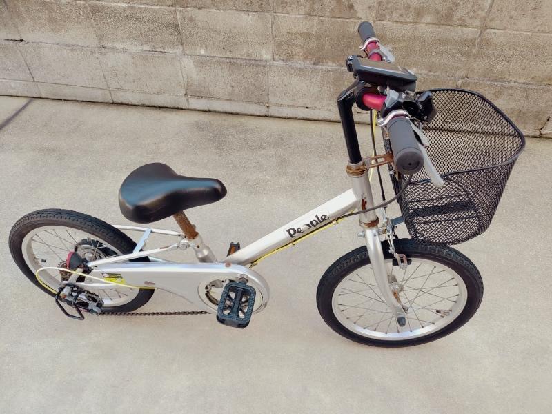 子供・幼児用 自転車 LEDソーラーライト -10-