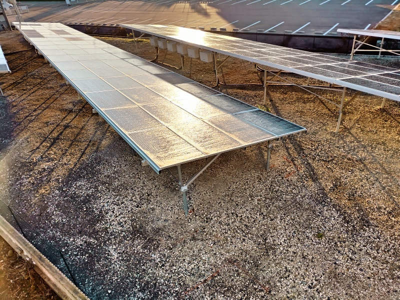 Meterk 電磁波計 電磁波測定器 太陽光発電パネル -4-