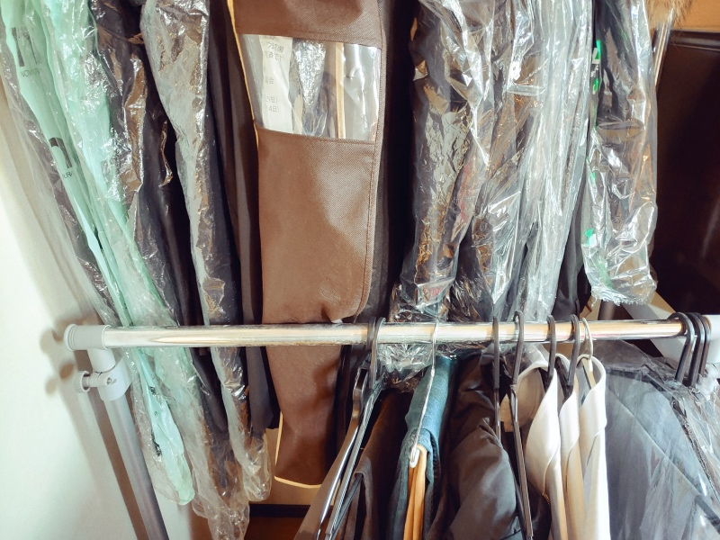 マワハンガー(MAWA) 洋服カバー ラック 整理整頓 -1-