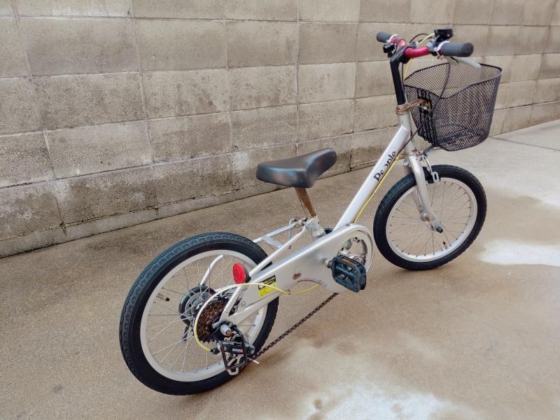 子供・幼児用 自転車 LEDソーラーライト -6-
