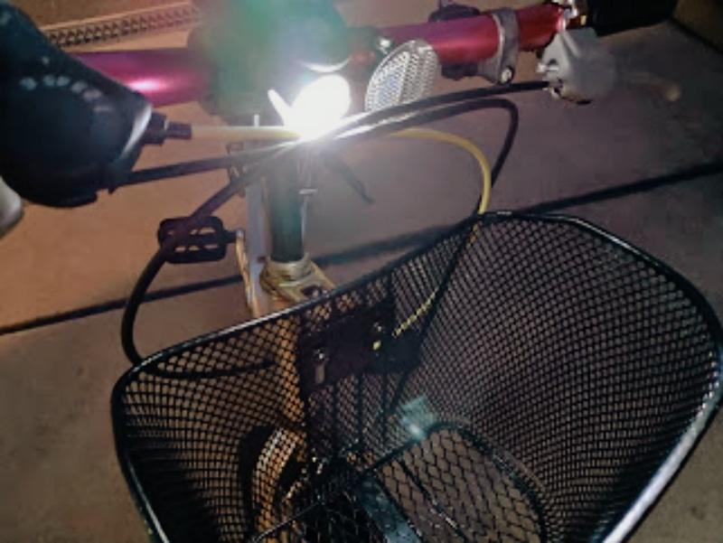子供・幼児用 自転車 LEDソーラーライト -12-