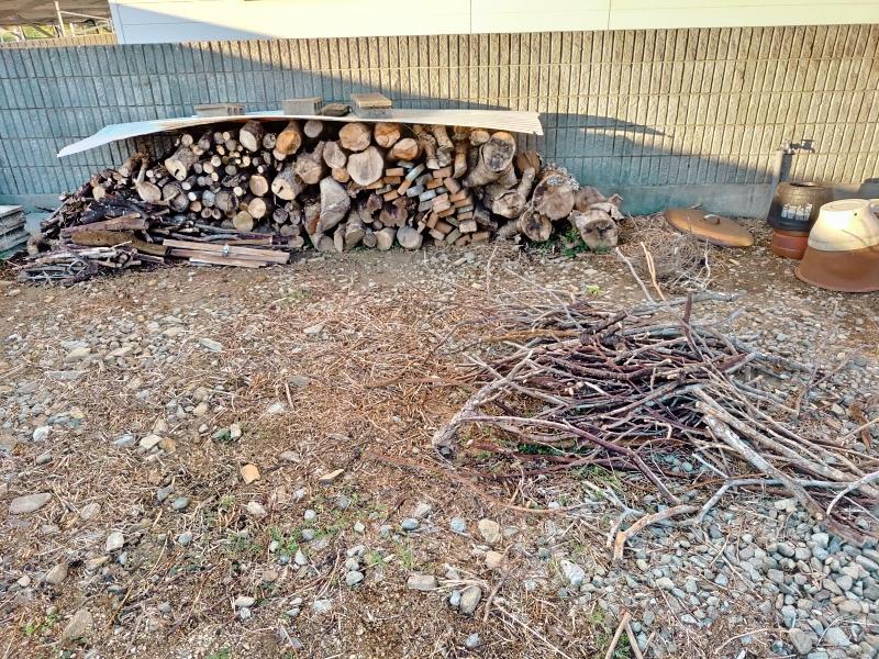 採伐 剪定 木材 焼却処分 炭 -1-