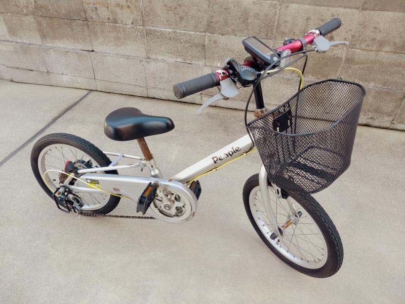 子供・幼児用 自転車 LEDソーラーライト -11-
