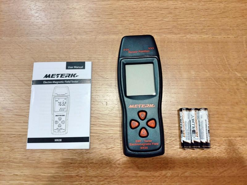 Meterk 電磁波計 電磁波測定器 太陽光発電パネル -2-