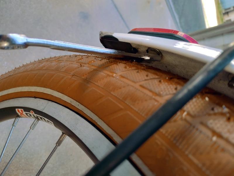 電動自転車 HYDEE2 パナソニック PANASONIC SKR602 LEDかしこいテールライト 泥除け装着用 -4-