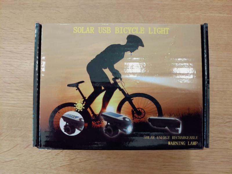 子供・幼児用 自転車 LEDソーラーライト -1-