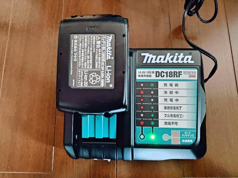 マキタ 互換バッテリー BL1860 6.0Ah 18V 使えない -4-
