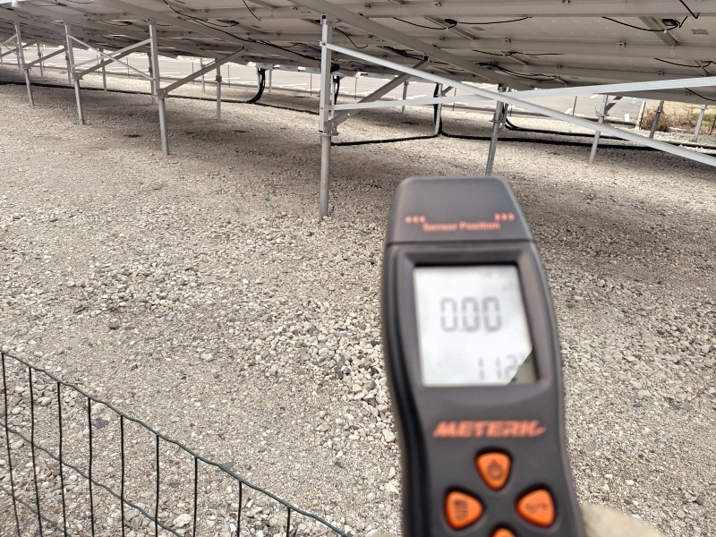 隣の空き地に太陽光発電所ができたので電磁波を計測した -2-