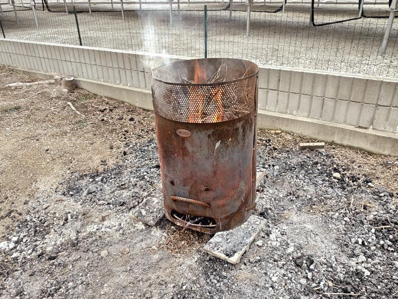 木の焼却処分 -4-