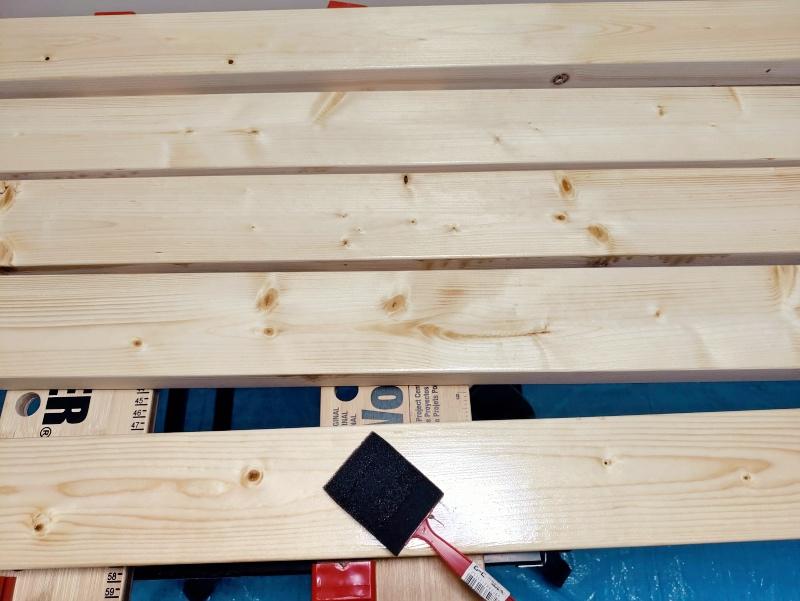2x4木材とラブリコでハンガーラックを作る 支柱製作 -8-