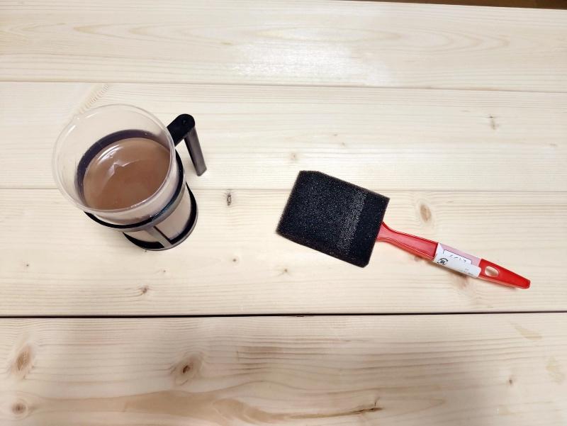 2x4木材とラブリコでハンガーラックを作る 支柱製作 -6-