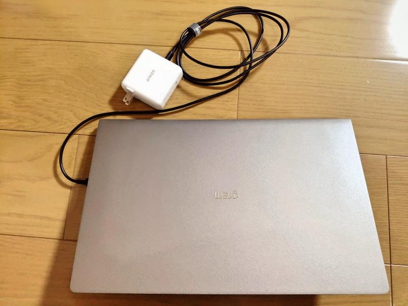 超軽量&超快適なノートパソコンの環境 LG gram PD充電 microsoft arc mouse -4-