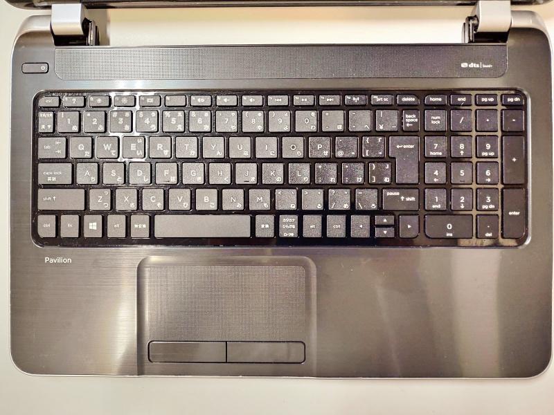 ノートパソコン「日本HP Pavilion 15-n207AU」HDD取り出し・交換・バックアップ B -1-