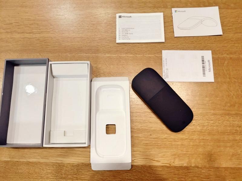 超軽量&超快適なノートパソコンの環境 LG gram PD充電 microsoft arc mouse -11-