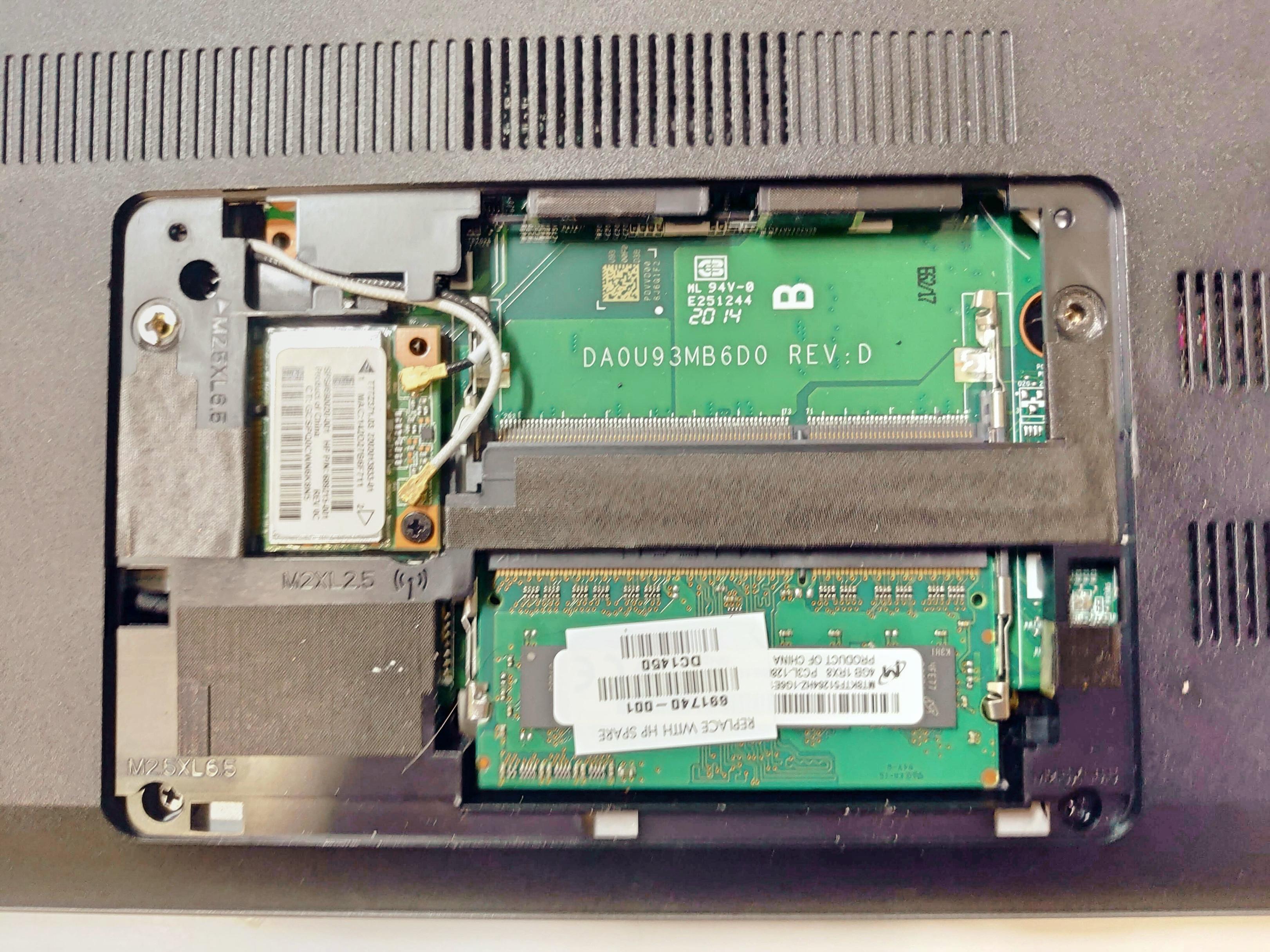 ノートパソコン「日本HP Pavilion 15-n207AU」HDD取り出し・交換・バックアップ -3-