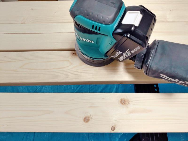 2x4木材とラブリコでハンガーラックを作る 支柱製作 -2-