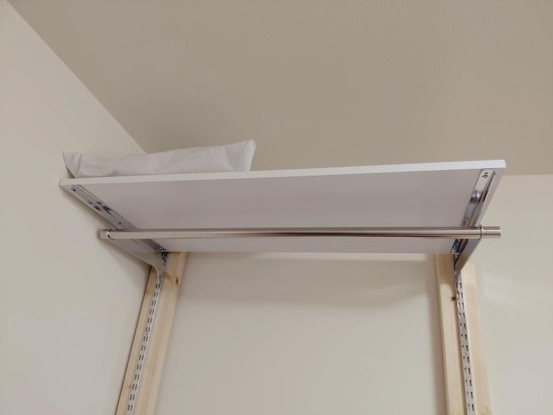 2x4木材 ロイヤルレール 棚 ハンガー -18-