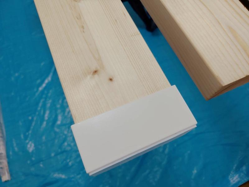 2x4木材 ロイヤルレール 棚 ハンガー -7-