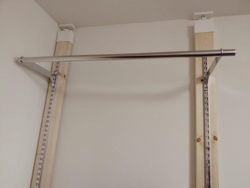 2x4木材 ロイヤルレール 棚 ハンガー -14-