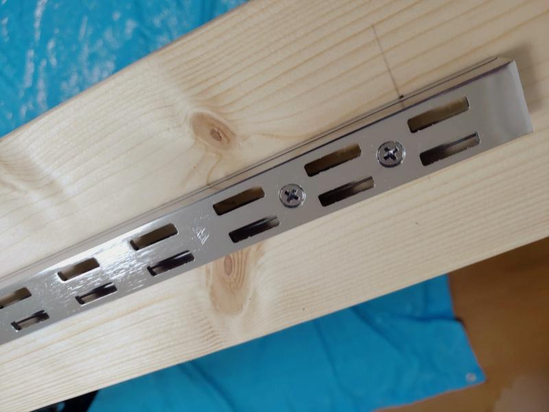 2x4木材 ロイヤルレール 棚 ハンガー -3-