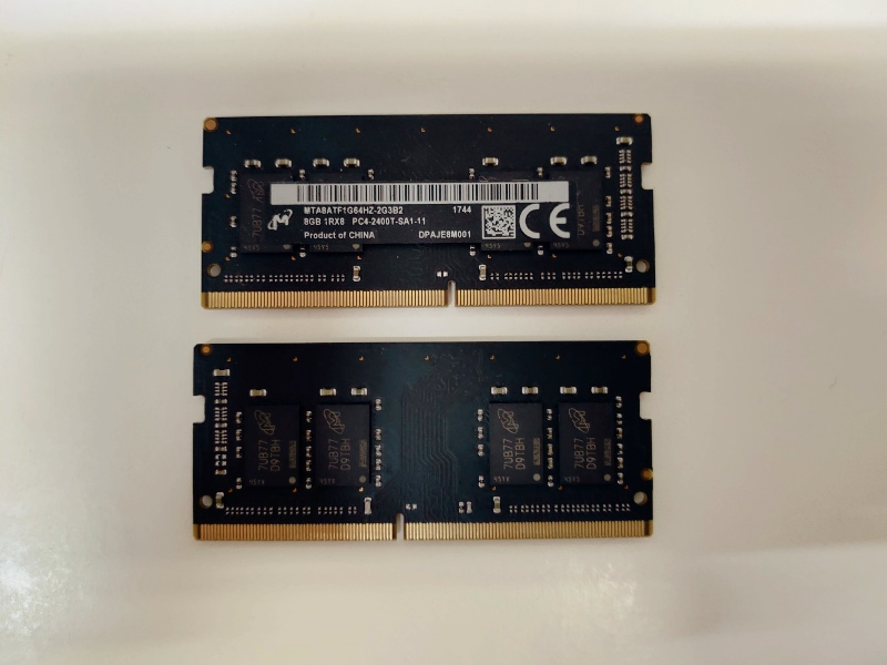 iMac メモリー増設 Crucial DDR4 SO-DIMM 2400MHz 32GB(16GBx2)260-2400-16384x2-CR BCAK0083977 -1-