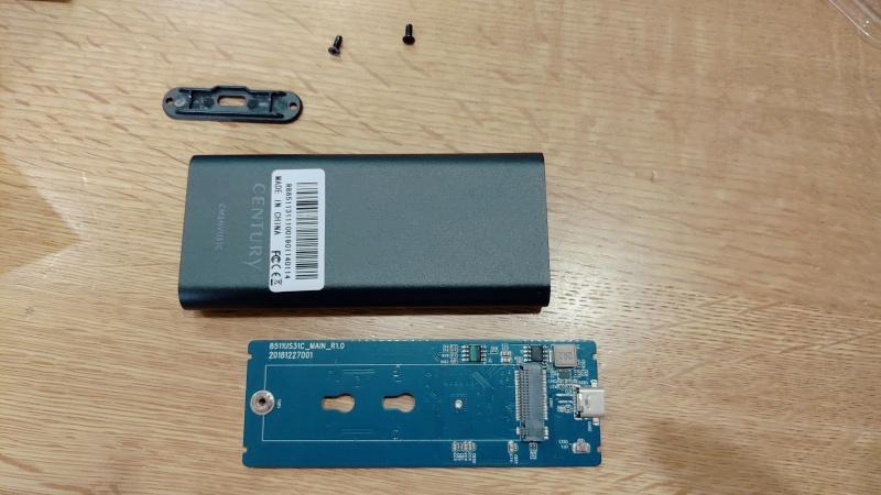 INTEL SSD660P 2TB センチュリー M.2 SSDケース iMac 2017 -7-