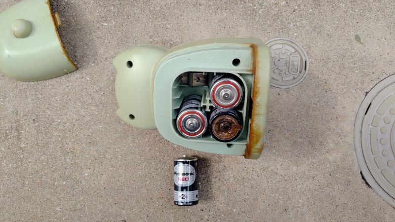 ソーラー式猫よけセンサー コンクリート置き設置対応 -11-
