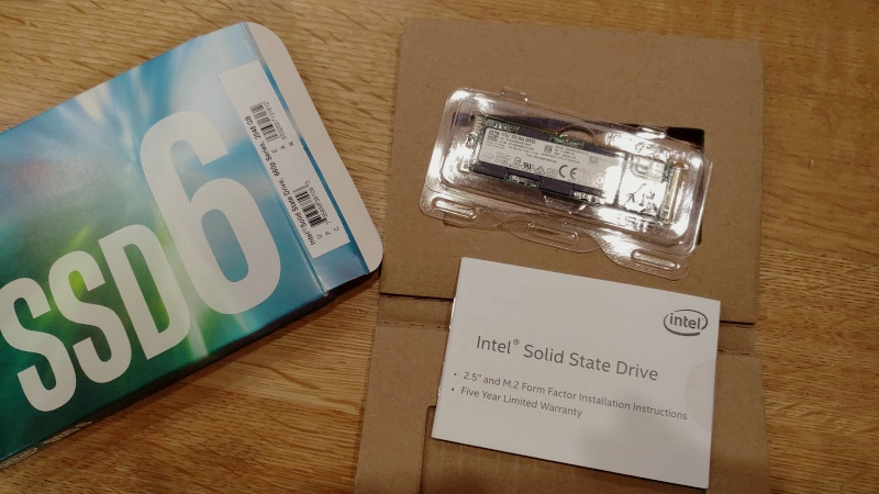 INTEL SSD660P 2TB センチュリー M.2 SSDケース iMac 2017 -6-
