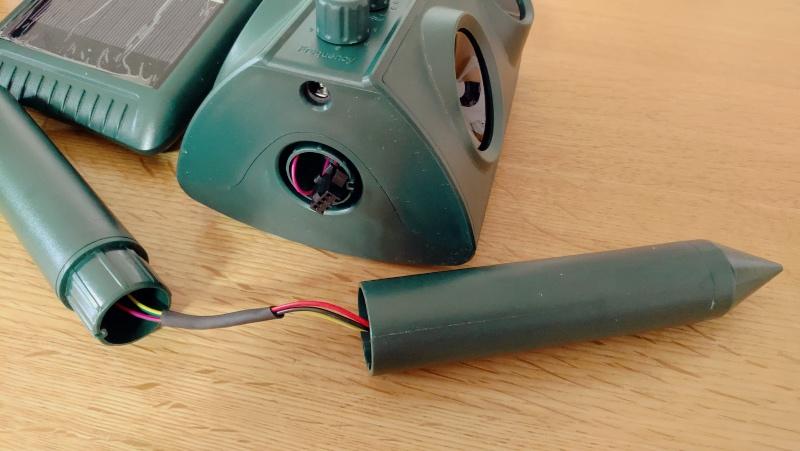 猫よけセンサー動物撃退機(ソーラー充電・USB充電・防水) -5-