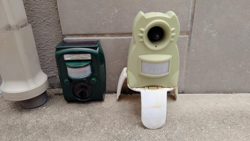 ソーラー式猫よけセンサー コンクリート置き設置対応 -9-
