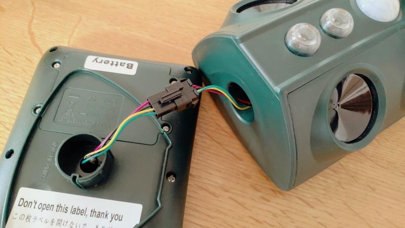 猫よけセンサー動物撃退機(ソーラー充電・USB充電・防水) -8-